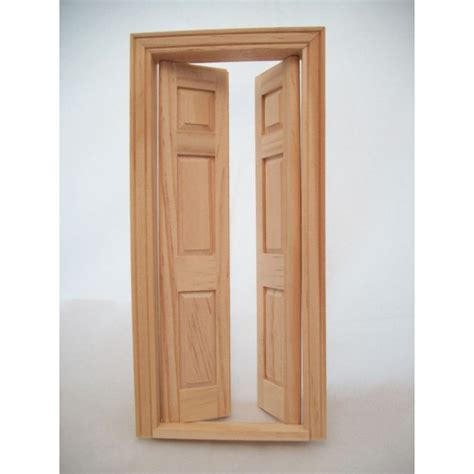 Interior Split Door Door Split Interior Dollhouse Miniature Wooden 6031 1 12 Scale Houseworks