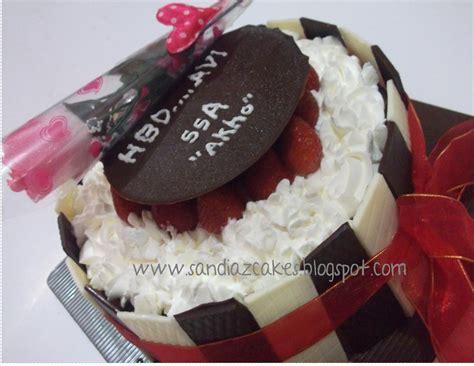 Pesanan Avi 18 sandiaz cakes and cookies birthday cake