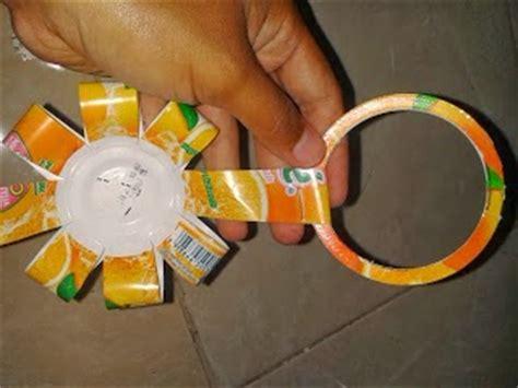 Ring Cutter Plastik Bunga cara mudah membuat tirai dari gelas botol minuman plastik