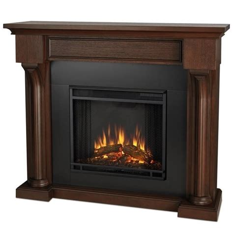 indoor electric fireplace real verona indoor electric fireplace in chesnut oak