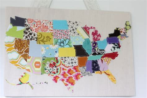 quilt pattern of the united states scrap map tutorial see kate sew