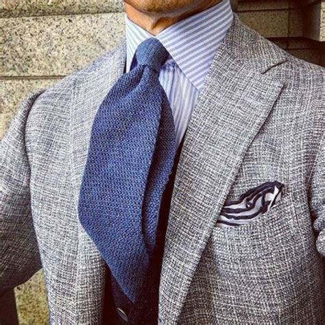 striped tie and checkered shirt beneath an elegant grey 1763 best images about shades of blue on pinterest
