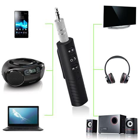 Clip On 3 5mm Bluetooth Receiver Car Audio Receiver Adapter clip on wireless bluetooth receiver 3 5mm bluetooth audio adapter with mic for