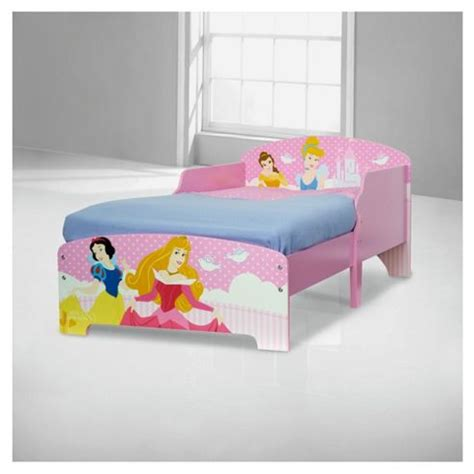 Princess Bed Frames Buy Disney Princess Toddler Bed Frame From Our Disney Bedroom Range Tesco