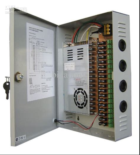 Power Supply Box 5 A Box Power Cctv isdist power box 8 outputs 10 s