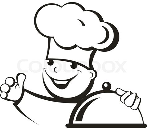 pictogramme cuisine cook stock vector colourbox