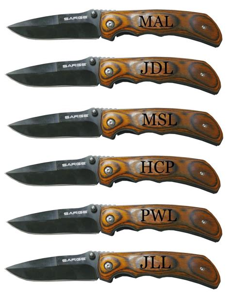 customize pocket knife personalized rosewood folding pocket knife