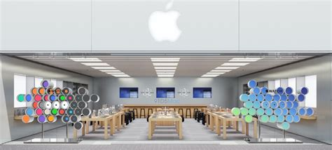 local drapery store a huge apple watch window display is coming to your local