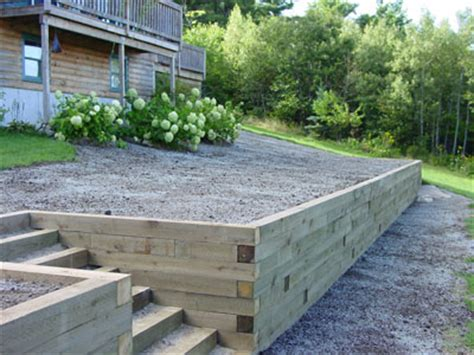 Landscape Timber Wall Design Timber Wall