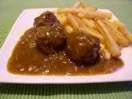 luikse balletjes belgische keuken luikse balletjes met frietjes en sla recept smulweb nl