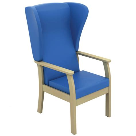 Chairs For Patients by Atlas Patient High Back Arm Chair With Wings Anti