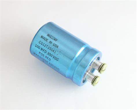 large aluminum electrolytic capacitors cg12t350a1 mallory capacitor 100uf 350v aluminum electrolytic large can computer grade 2020004475