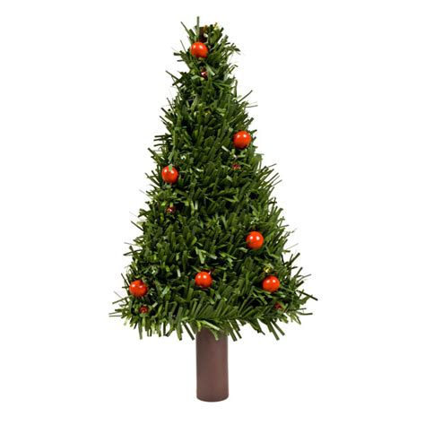 18cm plug in car christmas tree with 12 red led fairy