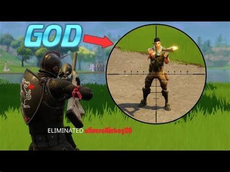 fortnite zeus fortnite sniping god