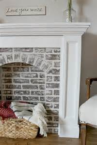 Faux Paint Brick Fireplace - best 25 fake fireplace ideas on pinterest