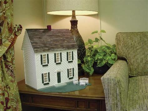 12 inch scale colonial dollhouse kit � real good toys