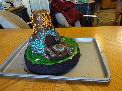 breath   wild shrine cake   dragoness zelda cake cake zelda birthday