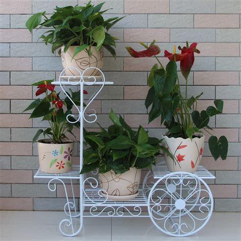 Kandang Pagar 6 Pcs 1 sepeda logam pemegang pot bunga besi tempa buy product