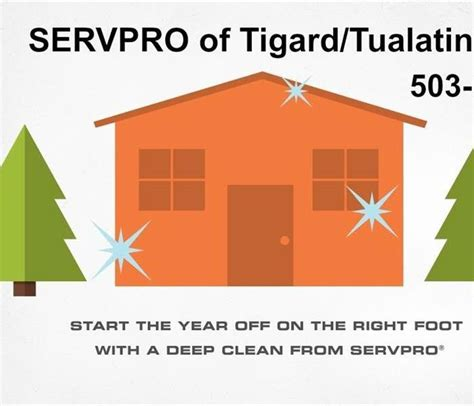 Home Cleaning Services In Tigard New Year New Home Servpro Of Tigard Tualatin