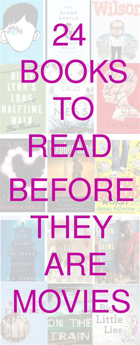 Popular Book To Adaptations Reading 17 Best Images About Reading On Raising