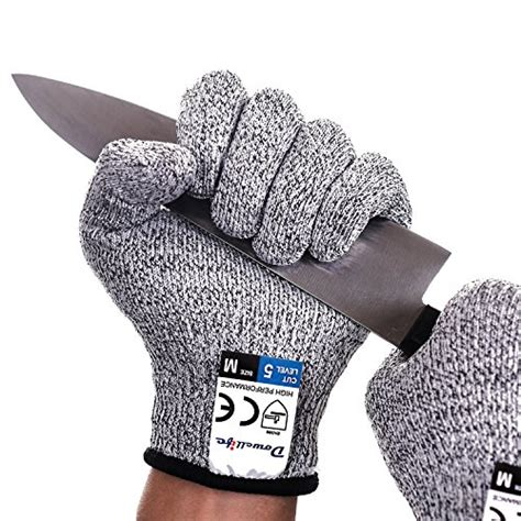 Cut Resistant Gloves Anti Cutting Food Grade Level 5 Kitchen Butcher P 25 great garden gloves lists of tools