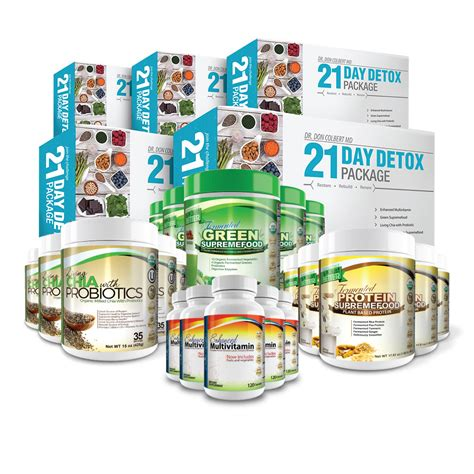 Dr Colbert Detox Program by Small 21 Day Detox Package Personal Care Cosmetics