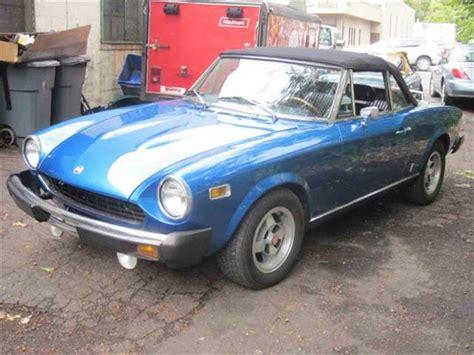 1978 fiat spider for sale 1978 fiat spider for sale classiccars cc 728395