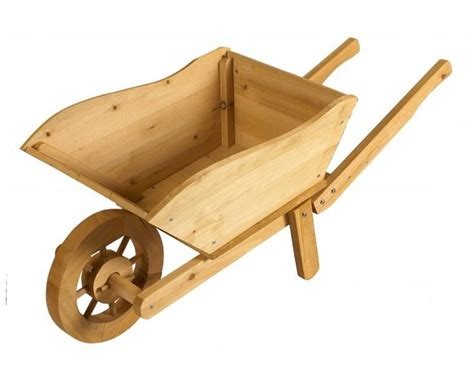 Rustic Wheelbarrow Planter by Best 25 Wooden Wheelbarrow Ideas On