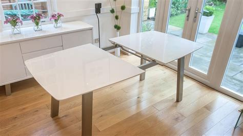 contemporary white dining table 20 inspirations contemporary extending dining tables