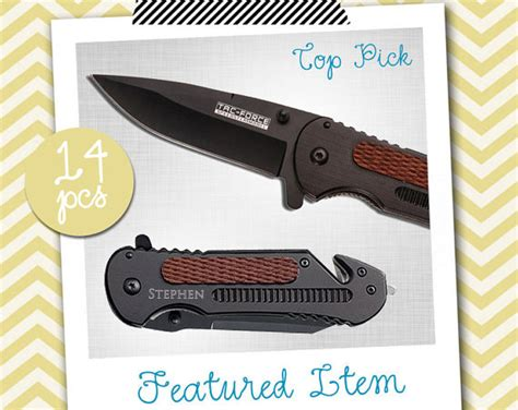 groomsmen gifts knife groomsmen gifts 14 personalized knives engraved knife