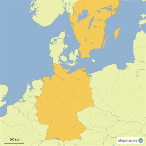 landkarte deutschland schweden my
