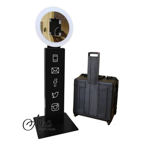 ring light photo booth mobibooth 174 aura 9 photo booth kiosk for sale gif booth