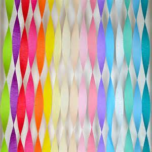 easy decoration paper streamers 6pk by setter