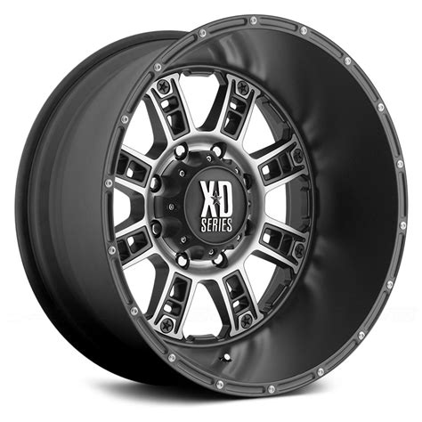 xd series wheels xd series 174 riot wheels matte black with machined rims