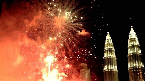 new year advertisement by petronas best new year fireworks klcc petronas towers