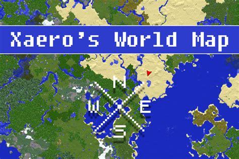 xaeros world map mods minecraft curseforge