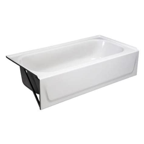 bootz industries bathtub bootz industries aloha 5 ft left hand drain soaking tub