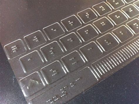 Keyboard For Blind 425 best images about tactile for the blind on sculpture museum of modern