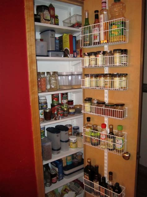 pantry door organizer diy pantry door organizer