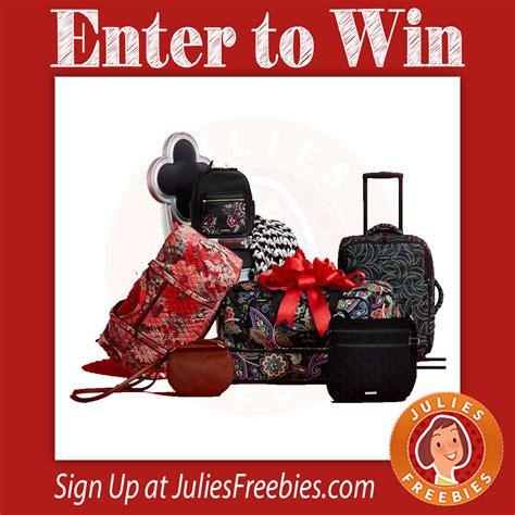 Vera Bradley Sweepstakes - win the homepage sweepstakes julie s freebies