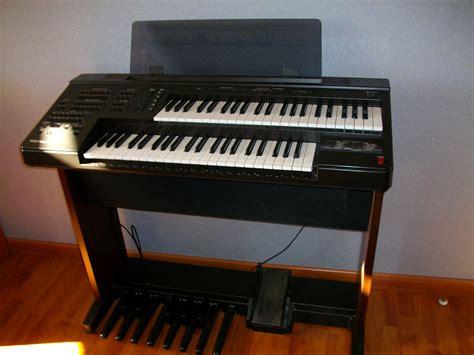 Keyboard Yamaha Electone orgue yamaha electone el 7 midi pyr 233 n 233 es audiofanzine