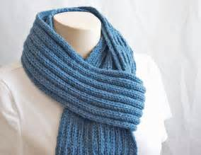 pattern knitting scarf blue mist scarf by monique gascon