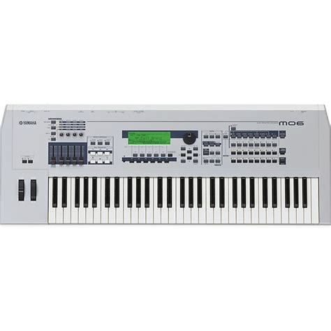 yamaha mo6 61 key production synthesizer workstation with daw musician s friend