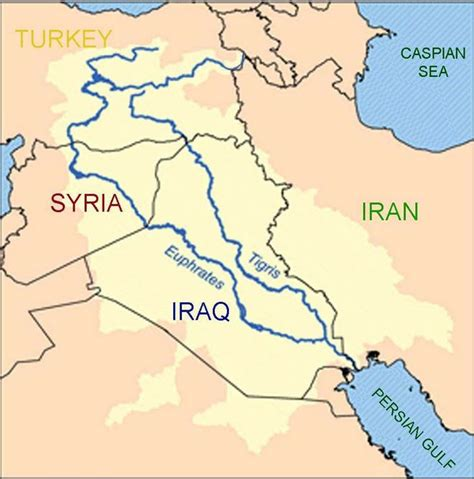 map of iraq rivers map of iraq rivers the conflict between turkey syria and