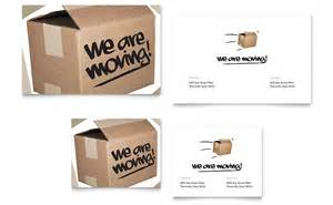 Business Moving Announcement Template We Re Moving Note Card Template Word Amp Publisher