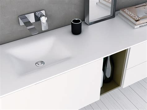 lavabo in corian d4 piano lavabo in corian 174 by inbani design inbani