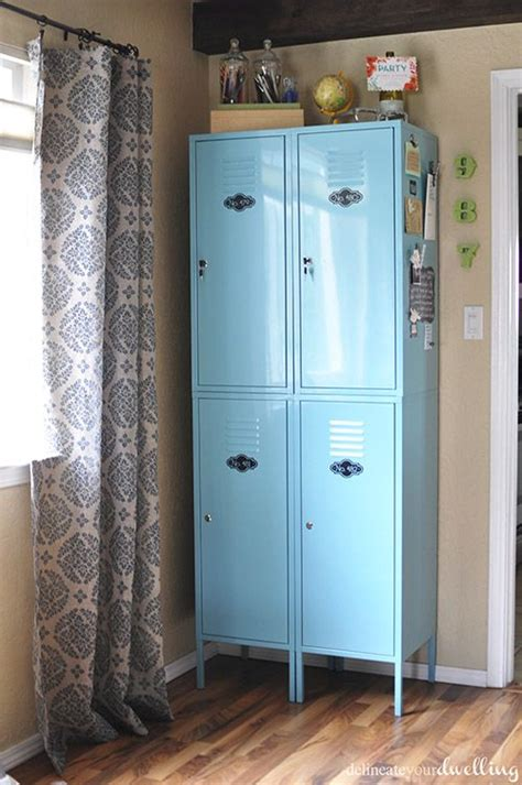 Lockers For Bedrooms by 25 Best Ideas About Locker Storage On Diy
