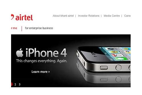 airtel deals on iphone