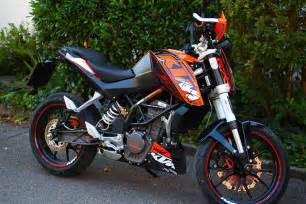 Ktm Powerparts Graphics Ktm 125 Duke Powerparts Bike Derestricted