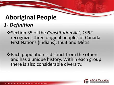 section 35 of the canadian constitution ppt the 16 th annual benefits conference watson parojcic